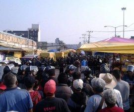 Se reporta balacera en el Mercado de Sonora