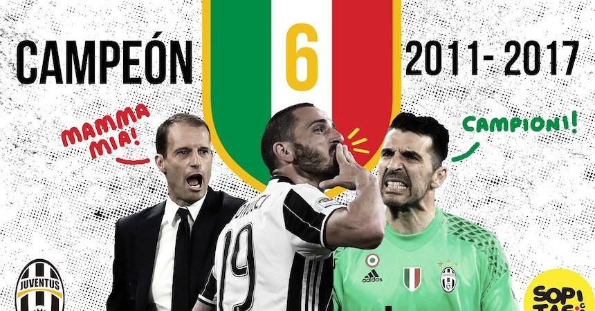 Juventus campeón 2017