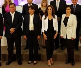 Candidatos a la gubernatura del Edomex, previo a segundo debate