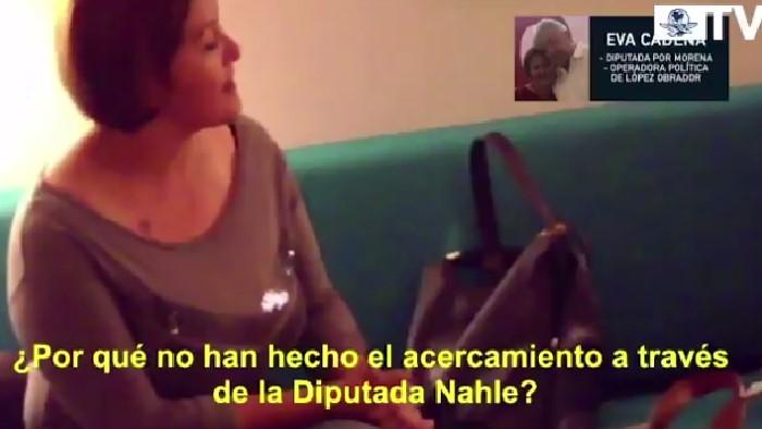 Eva Cadena en nuevo videoescándalo