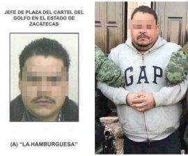 La Hamburguesa, líder del Cártel del Golfo en Zacatecas