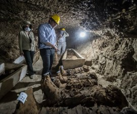 hayan 17 momias en Egipto