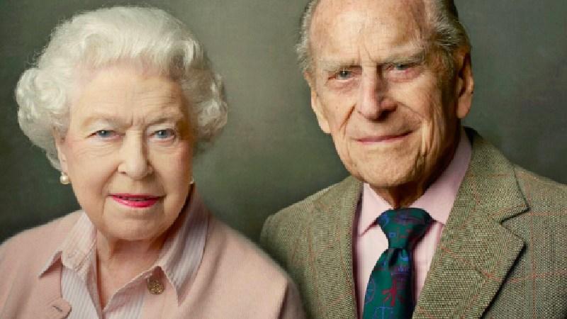 La Reina Isabel II y su esposo, el Príncipe Felipe