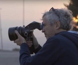 Alfonso Cuarón - Rodaje de Roma