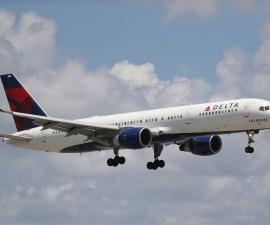 Vuelo de Delta Airlines - turbulencia