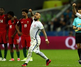 Portugal v Chile: Semi-Final - FIFA Confederations Cup Russia 2017