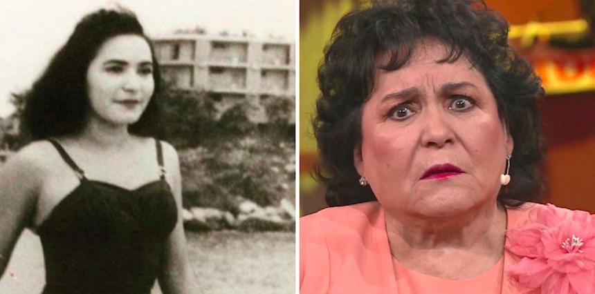 Carmen Salinas - Antes y Después