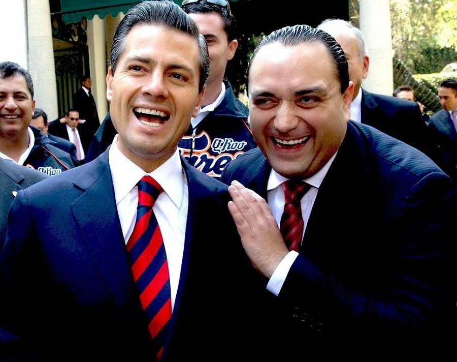 EPN y Roberto Borge
