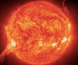 Erupción solar - La NASA