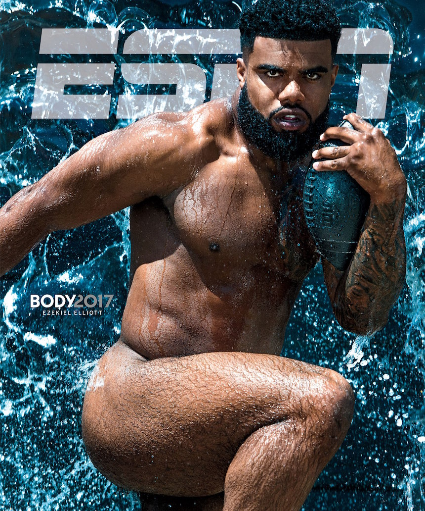 Ezekial ElliottESPN Cover photo: Kwaku Alston