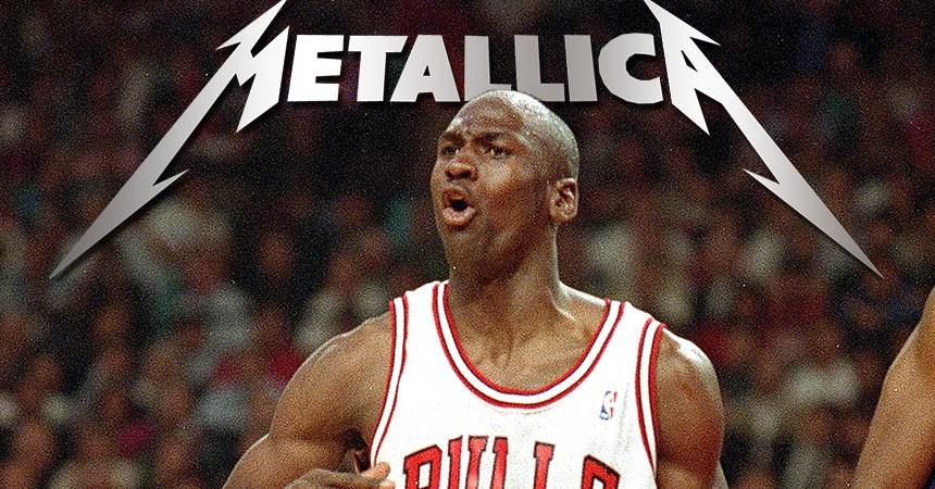 Finales NBA con Metallica
