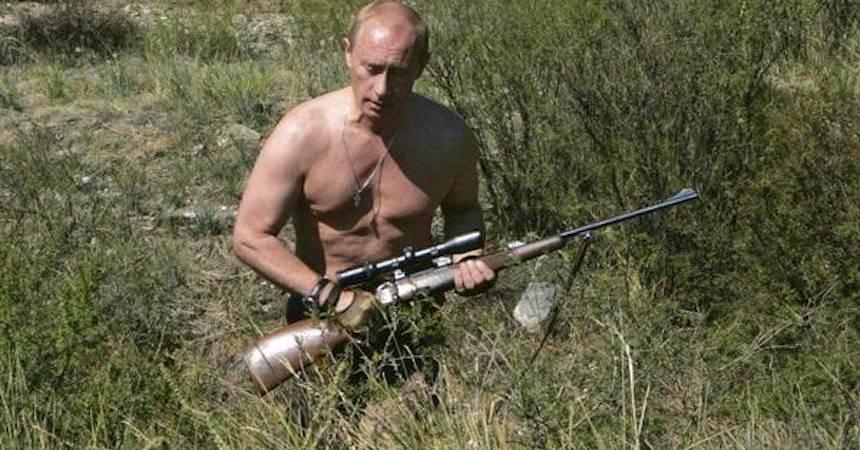 Vladimir Putin - Rifle
