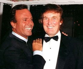 Julio Iglesias Donald Trump