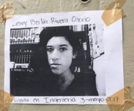 Lesvy Berlín, chica encontrada muerta en CU