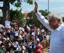 Andrés Manuel López Obrador, presidente nacional de Morena