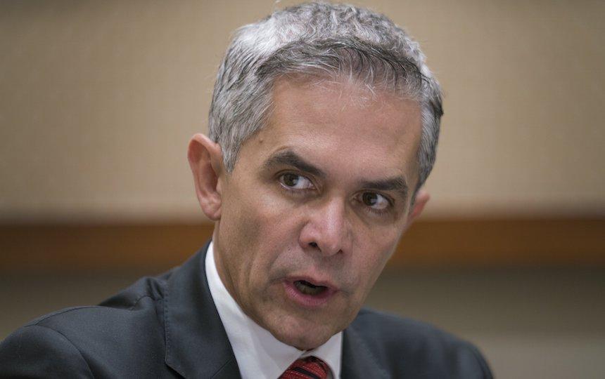 Miguel Ángel Mancera, jefe de gobierno de la CDMX, asegura que no hay cárteles en la capital sino narcomenudistas