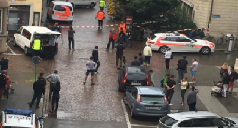 Ataque con motosierra en ciudad de Suiza