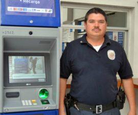 El policía Mario Alberto Ramos