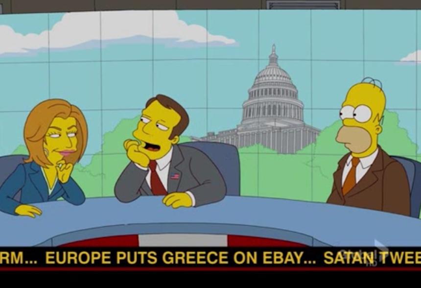 Los Simpson - Grecia