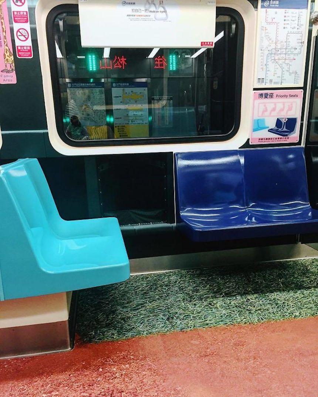 Pista de tartán - Metro