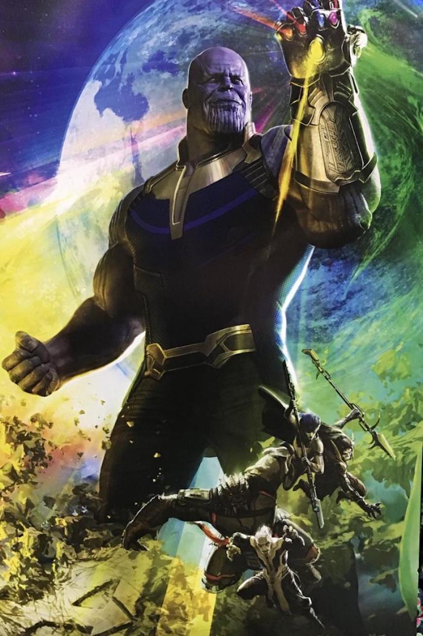 Póster - Thanos