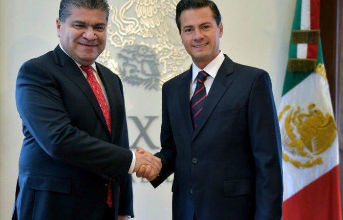 EPN y Miguel Ángel Riquelme