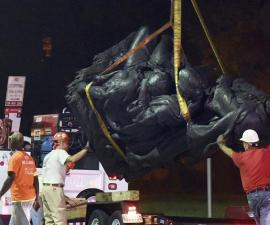 Retiro de estatuas confederadas en Baltimore