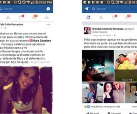 Mensajes en los que dos mujeres se pelean por el galanazo de Carlos Collin