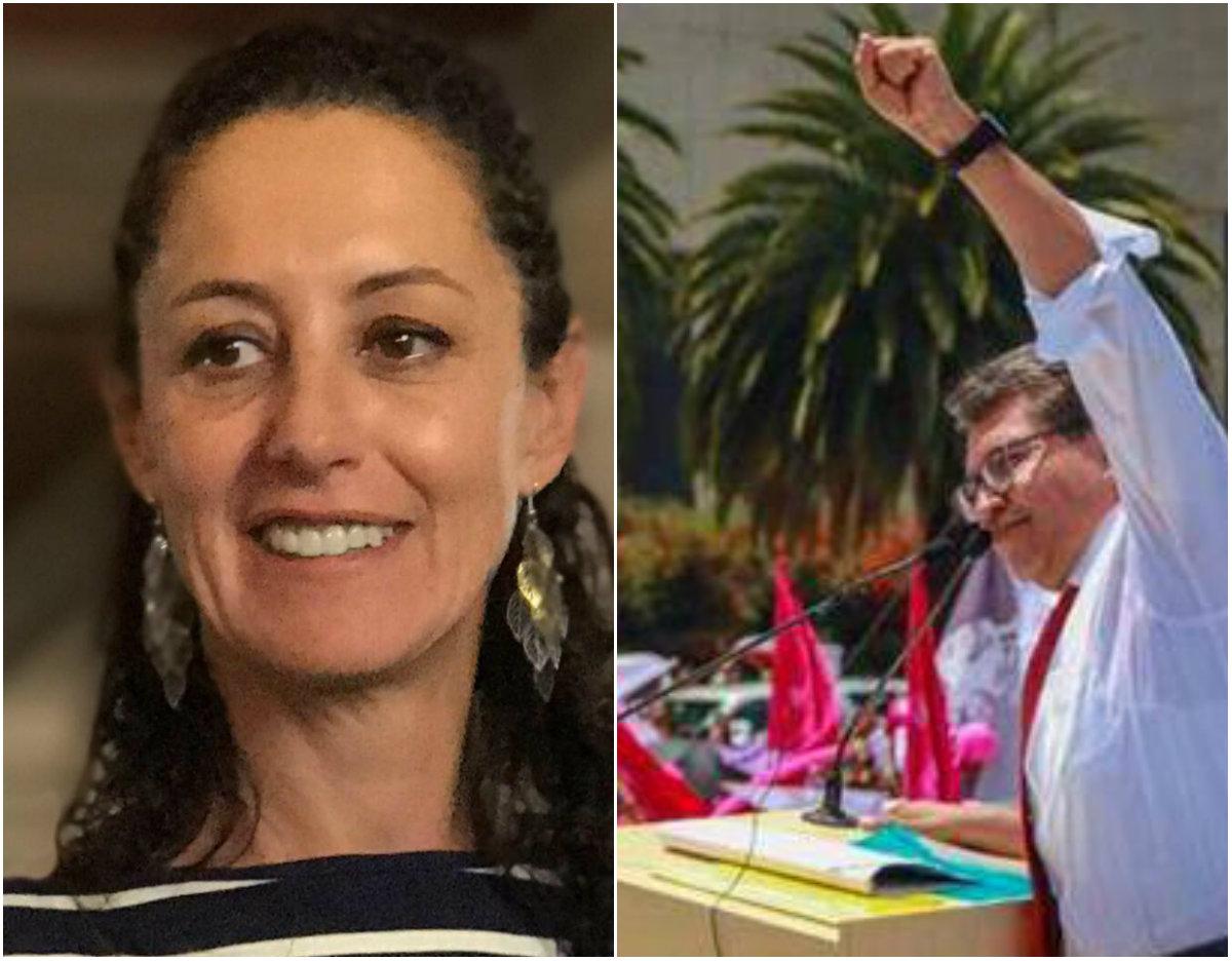 Claudia Sheinbaum y Ricardo Monreal se asoman como los favoritos para ganar elección interna de Morena