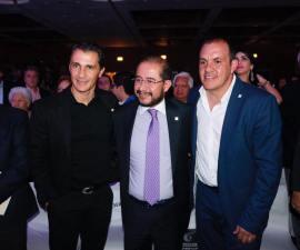 Cuahtémoc Blanco y Hugo Eric Flores