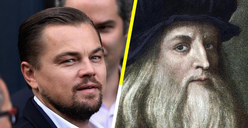 Leonardo DiCaprio - Película de da Vinci