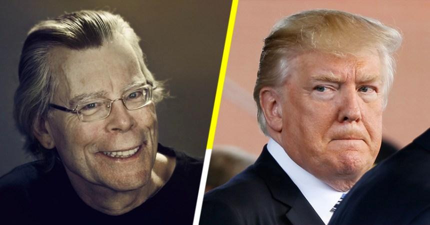 Donald Trump y Stephen King