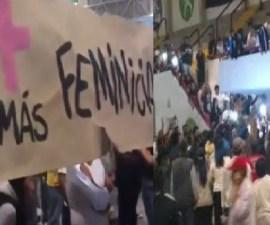 Protesta contra Indalecio Ríos, edil de Ecatepec