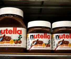 Frascos de Nutella