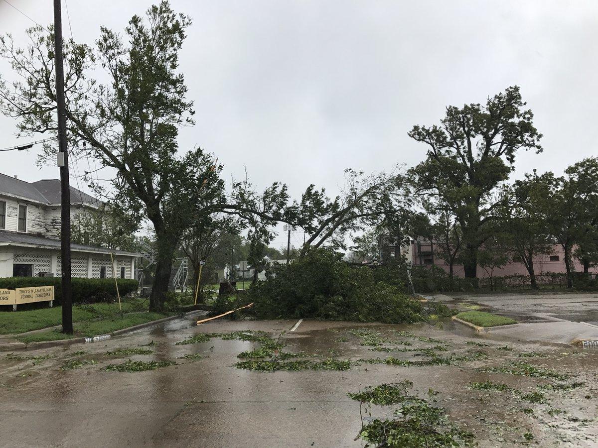 desastres causados por el paso de Harvey