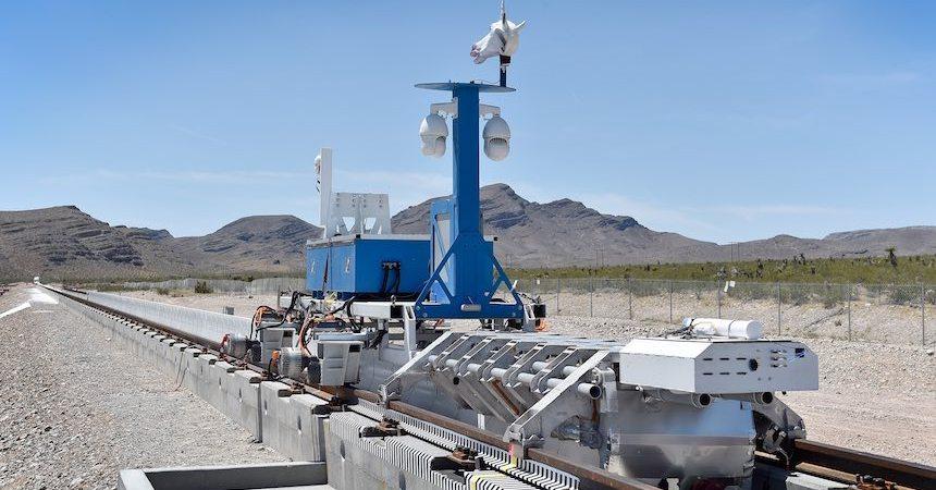 Primera prueba del Hyperloop