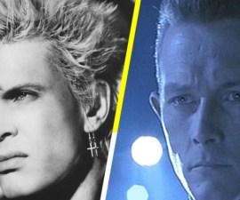 Billy Idol como T-1000 - Terminator 2