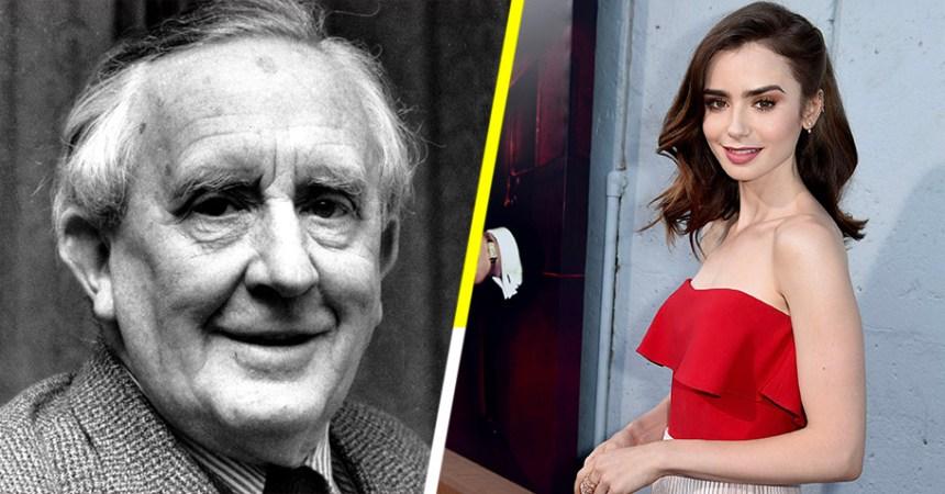 Lily Collins saldrá en la película de Tolkien