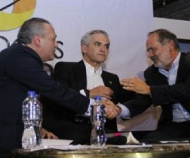 Manlio Fabio Beltrones, Gustavo Madero, Miguel Ángel Mancera