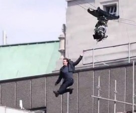 Tom Cruise - Accidente en el set de Mission: Impossible 6