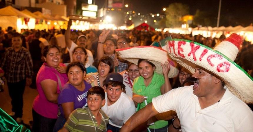México - Celebrando el 15 de septiembre