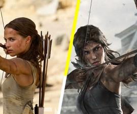 Alicia Vikander como Tomb Raider