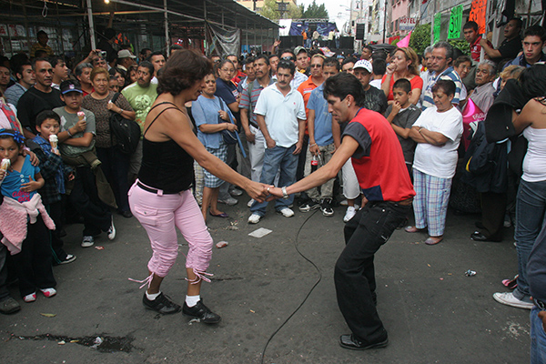 Baile de sonidero