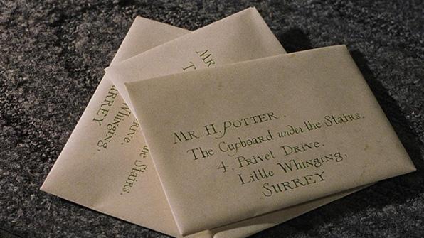 Carta Harry Potter