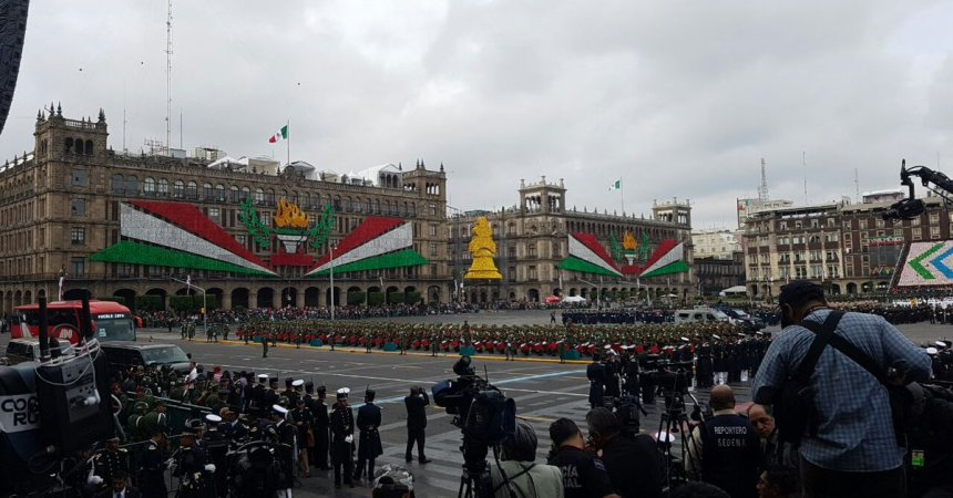 Desfile militar 2017