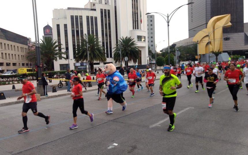Dr. Simi en el Maratón de la CDMX