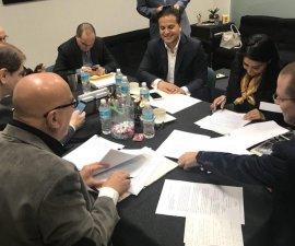 Firma del Frente Ciudadano por México