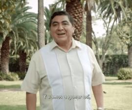 Carlos Bonavides, actor que interpreta a Huicho Domínguez se suma a Morena