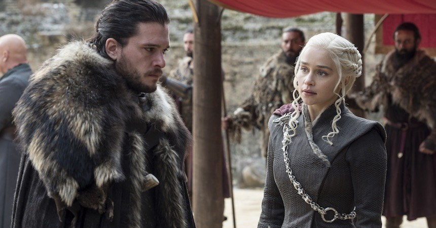 Game of Thrones - Daenerys Targaryen y Jon Snow