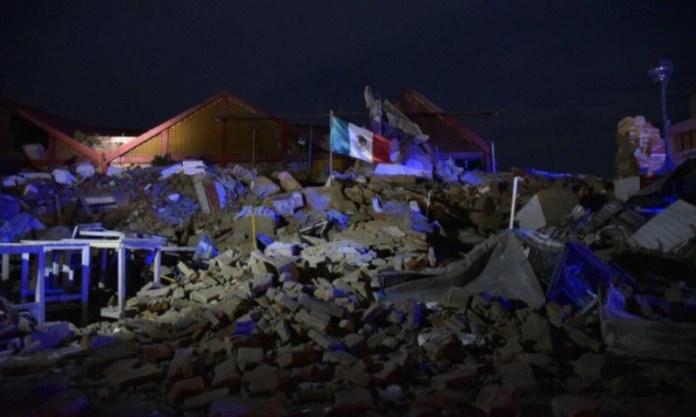 Resultado de imagen para oaxaca tras sismo